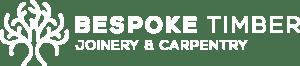 bespoke timber logo white